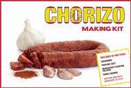 Home Spanish Chorizo Sausage Making Pack - Chorizo Seasoning, 2 casings, Curing Salt & Bessastart